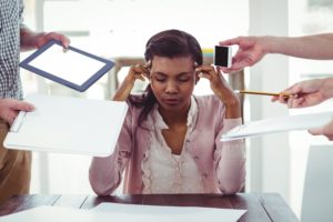 The effects of stress at work